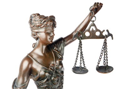 symbol of justice for surety guarantee